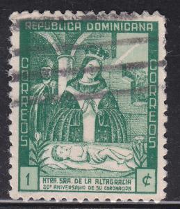Dominican Republic 384 Virgin of Altagracia 1942