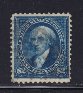 277 VF used neat cancel with nice color cv $ 450 ! see pic !