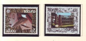 Norway Sc 905-6 1987 Europa Architecture stamps mint NH