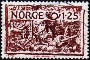 Norway. 1980 1k25 S.G.863 Fine Used