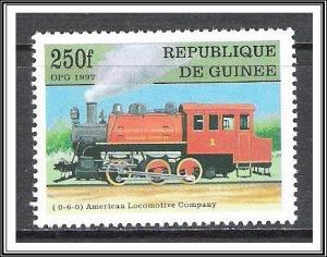 Guinea #1451 Trains MNH