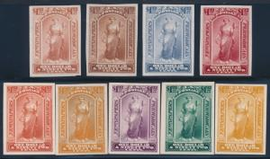 #PR24TC $1.92 (9) DIFF. TRIAL COLOR PLATE PROOFS BT507