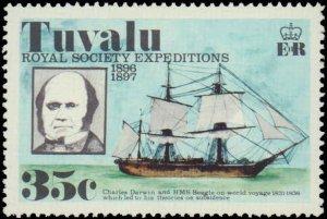 Tuvalu #54-57, Complete Set(4), 1977, Never Hinged