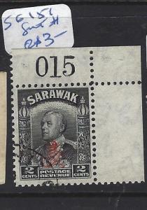 SARAWAK (P1209B)  2C  ROYAL CYPHER SHEET #  SG 151   VFU