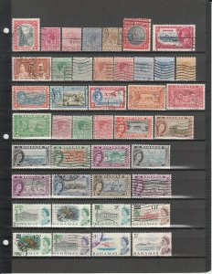 BAHAMAS 115 DIFFERENT USED 48/C7 SEE DESCRIPTION AREA FOR LIST 2019 SCV $136.25