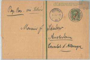 66413 - RUSSIA: CHINA -  POSTAL HISTORY - STATIONERY WRAPPER to NETHERLANDS