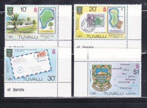 Tuvalu 133-136 Set MNH Various (B)