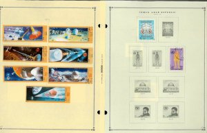Yemen 1930-1990 M& U & CTO Hinged & in Mounts on Scott International Pages