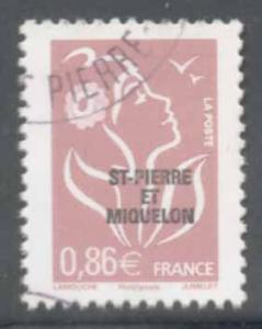 St Pierre & Miquelon ~ #839 ~ Used
