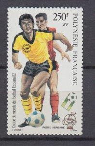J29549,1982 french polynesis set of 1 mnh #c192 sports