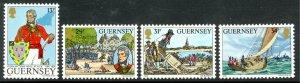 GUERNSEY 1984 LT-GENERAL JOHN DOYLE Set Sc 303-306 MNH