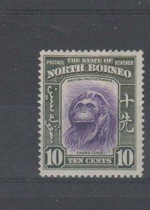 North Borneo 1939 10c  MM