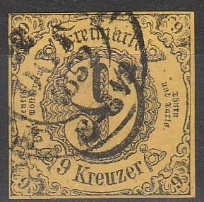 Thurn & Taxis #46 F-VF Used CV $17.50 (A16130)