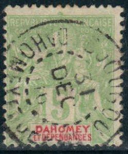 Dahomey  #4  Used CV $4.00