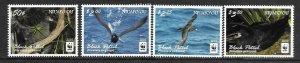 2016    NIUAFO'OU  -  SG.  420 / 423  -  BLACK PETREL  -  WWF   -  MNH