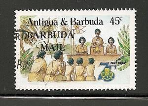 Barbuda  1986  overprint stamp used scott # 770