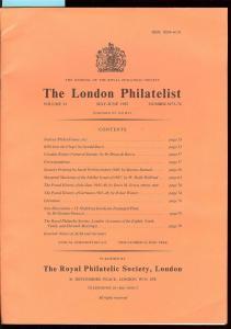 The London Philatelist: Vol. 91, Number 1073-74,