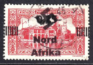ALGERIA (FRENCH) 122 NORD AFRIKA OVERPRINT CDS XF SOUND