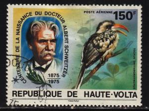 Burkina Faso C212 Schweitzer and Toucan 1975