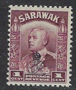 Sarawak 159 MNH 1947 overprint (ap6518)