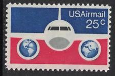 SCOTT # C89 25 CENT AIR MAIL SINGLE MINT NEVER HINGED !!