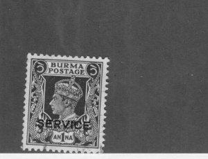 Burma Ø31 USED BIN$ 2.00