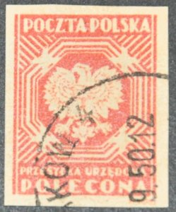 DYNAMITE Stamps: Poland Scott #O26 – USED