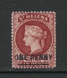 St. Helena, Sc 29 (SG 27), MHR