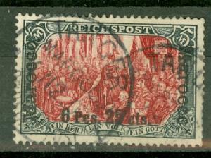 Germany Morocco 19D used CV $270