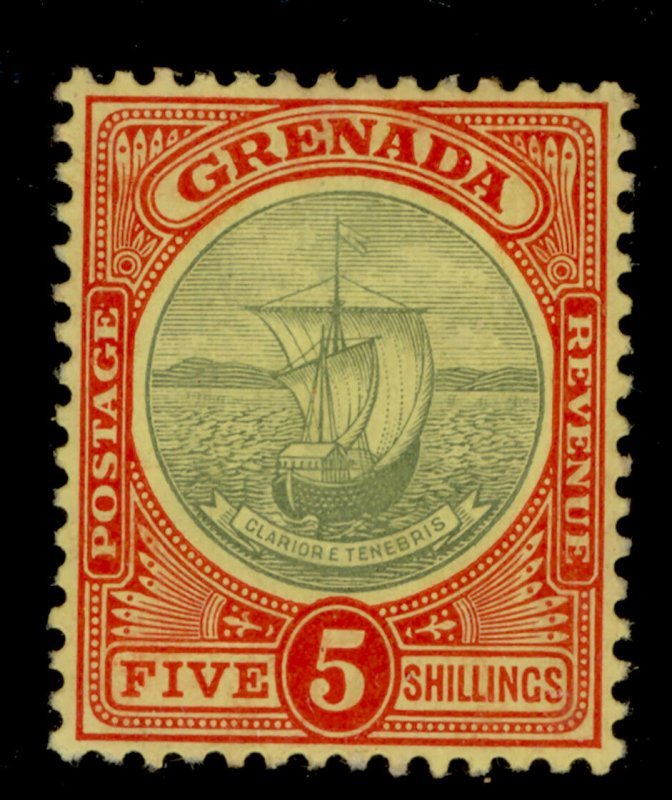 GRENADA SG88, 5s green and red/yellow, M MINT. Cat £80.