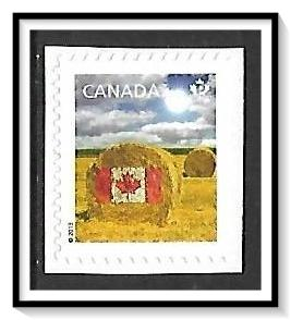 Canada #2613 Flag on Hay Bale P$ MNH