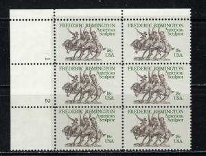 U.S. 1934 NH 1981 Frederick Remington Plate Block