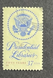 US 2005 Presidential Library Act USED single #3930
