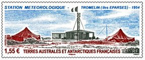 Scott #495 Meteorlogical Station MNH