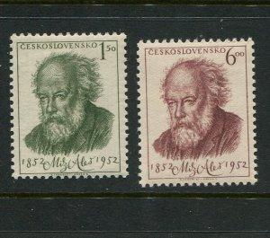 Czechoslovakia #546-7 MNH