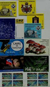 Luxembourg 10 MNH booklets