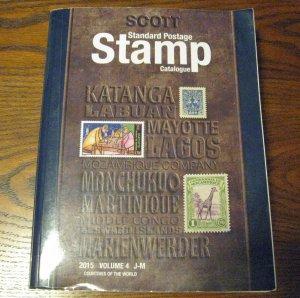 2015 Scott Stamp Catalogue Countries J-M