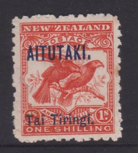 Aitutaki Sc#6 MNH - a couple of tone spots