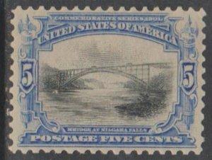 U.S. Scott #297 Pan-American Stamp - Mint Single