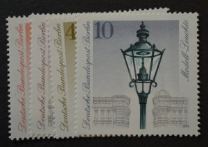 Berlin Sc # 9N430-433, VF MNH