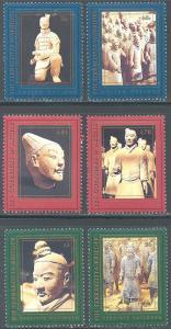 UN/US 716-717, UN/Switz 314-315, UN/Austria 230-231 MNH - Terracotta Warriors