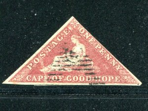Cape of Good Hope# 3  Used F-VF   - Lakeshore Philatelics