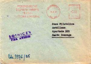 Poland, Meters, Airmail