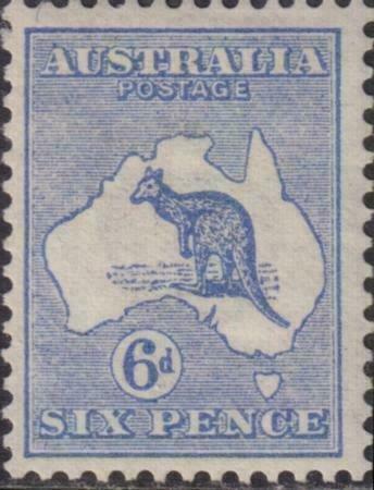 Australia 1913 SC 8 Mint