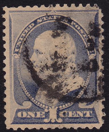 USA - 1887 - Scott #212 - used - Franklin