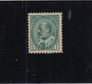 CANADA # 89 VF-MH KEV11 1ct CAT VALUE $80