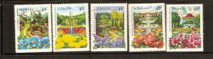 CANADIAN SET ON  THE SUPERNATURAL USED STAMPS  LOT#200