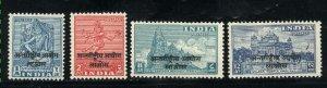 India - Laos 2-5   Mint VF 1954 PD