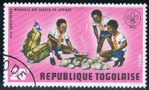 Togo Boy Scouts 20 - pickastamp (TP6R202)
