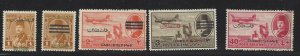 VEGAS - 1948 Small Lot Of Egypt Palestine Overprint Issues - MH & Used Mix- DO20